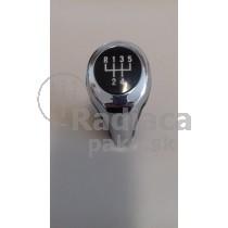 Hlavica radiacej páky BMW rad 6, E63 E64, 5 stupňová, chrom