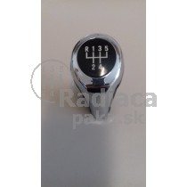 Hlavica radiacej páky BMW X1, 5 stupňová, chrom