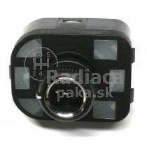 Ovládanie vypínač spätných zrkadiel Audi A8, chrom, 8R0959565