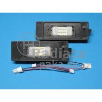 LED Osvetlenie ŠPZ BMW rad 6