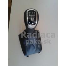 Radiaca páka s manžetou Škoda Superb, 5 stupňová, chrom