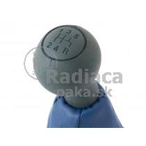 Radiaca páka s manžetou Fiat Doblo I, 5 stupňová, sivo modrá