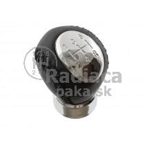 Hlavica radiacej páky Mazda 323/323F, 5 stupňová, chrom