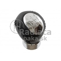 Hlavica radiacej páky Mazda MPV, 5 stupňová, chrom