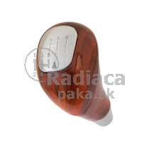 Hlavica radiacej páky Mercedes Vito W638, 6 stupňová, chrom+drevo dekor