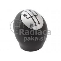 Hlavica radiacej páky Renault Fluence, 5 stupňová, matný chrom