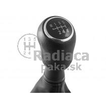 Radiaca páka s manžetou na VW T5, 6 stupňova, chrom1