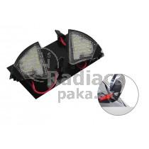 LED svetlo, podsvietenie spätného zrkadla, ľavé a pravé, VW Eos 06-10