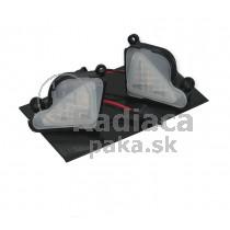LED svetlo, podsvietenie spätného zrkadla, ľavé a pravé, Škoda Superb II 08-15