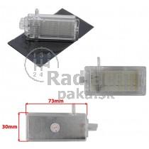 LED Osvetlenie skrinky pred spolujazdcom Mini R56