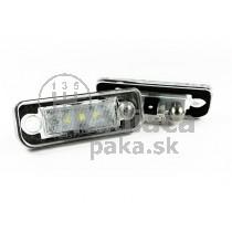 LED Osvetlenie ŠPZ Mercedes R171 SLK