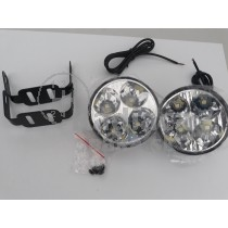 LED Denné osvetlenie DRL 05, 4 LED diod, okrúhle priemer 70mm