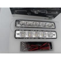 LED Denné osvetlenie DRL 19, 5 LED diod
