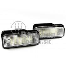 LED Osvetlenie ŠPZ Mercedes W219 CLS, 04 - 11