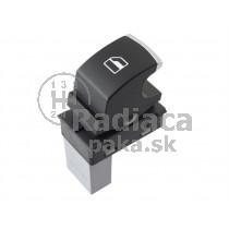 Ovládanie vypínač sťahovania okien Seat Ibiza 5ND959855, chróm