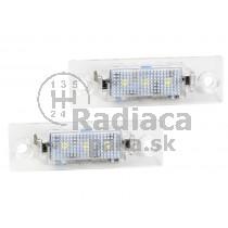 LED Osvetlenie ŠPZ Škoda Superb