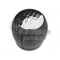 Hlavica radiacej páky Opel Combo, 5 stupňová, Chrom