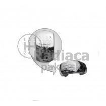 Chromový kryt na radiaciu páku Škoda Octavia II , 5 stupňova 04-11