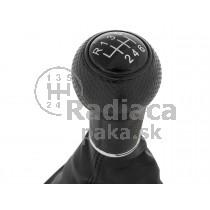 Radiaca páka s manžetou VW Bora, 6 stupňová, čierny rámček