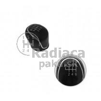 Hlavica radiacej páky Ford B-Max, 6 stupňová, čierna