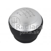 Hlavica radiacej páky Hyundai i30, 6 stupňová, strieborná