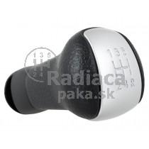 Hlavica radiacej páky Nissan Juke, 5 stupňová, sivá