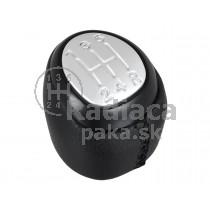 Hlavica radiacej páky Saab 9-3, 5 stupňová, čierna