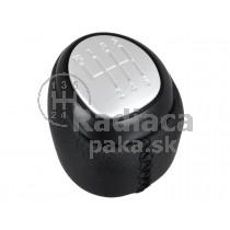 Hlavica radiacej páky Saab 9-3, 6 stupňová, čierna