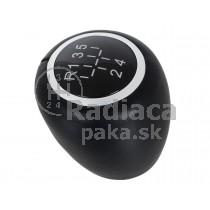 Hlavica radiacej páky Opel Signum FL, 5 stupňová, čierna ekokoža