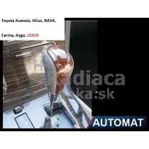 Hlavica radiacej páky Lexus, automat