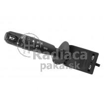 Vypínač, prepínač, ovládanie svetiel, páčky smerovky, vypinač predných a zadných hmloviek +klakson Peugeot 106