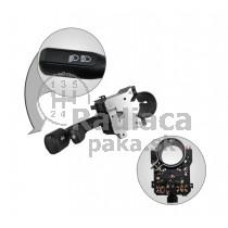 Vypínač, prepínač, ovládanie svetiel, stieračov, páčky smerovky stierače Audi 80 89-94