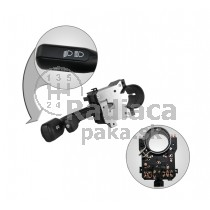 Vypínač, prepínač, ovládanie svetiel, stieračov, páčky smerovky stierače Audi 100 88-94
