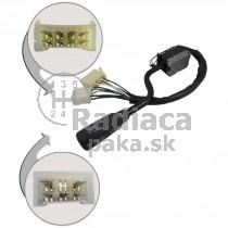 Vypínač, prepínač, ovládanie svetiel, stieračov, páčky smerovky stierače Mercedes Bus