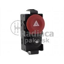 Vypínač výstražných svetiel Renault Clio III