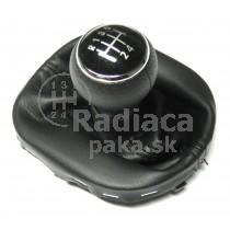 Radiaca páka s manžetou VW Caddy, 5 stupňová, chrom