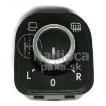 Ovládanie vypínač elektrického zrkadla VW Passat CC, 5K0959565