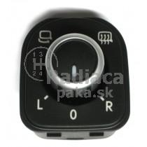 Ovládanie vypínač elektrického zrkadla VW Touran, 5K0959565