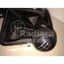 Radiaca páka s manžetou VW Tiguan, 6 stupňová, chrom1