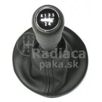 Radiaca páka s manžetou VW T5, 5 stupňova, chrom1